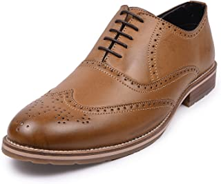 Andrew Scott Men's Leather Formal Brogues