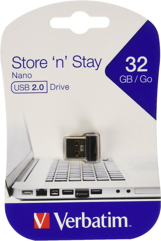 Verbatim 64GB Store n Stay Nano USB 3.0 Flash Drive Blue