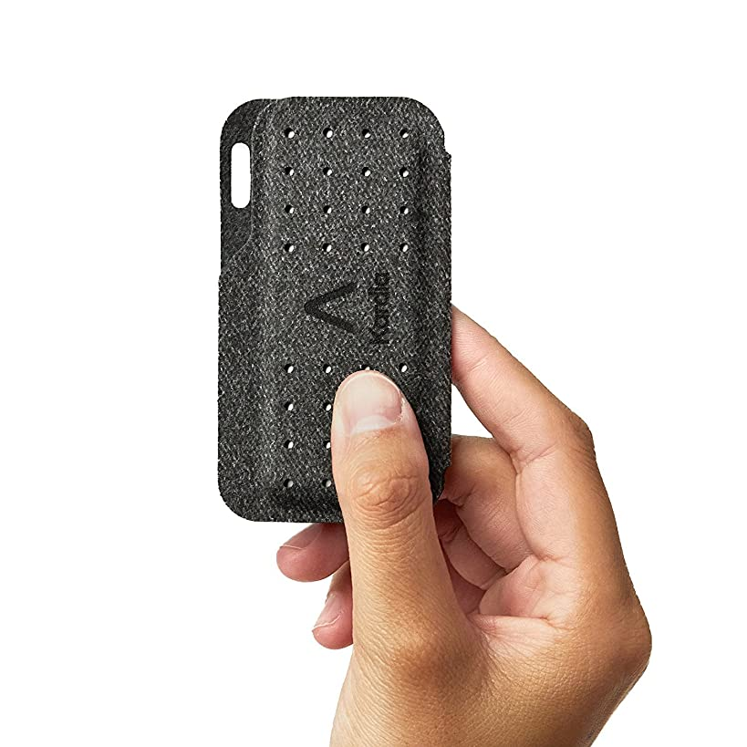 Alivecor? Kardia Mobile Carry Pod Carrying Case | Travel Case Features Magnetic Closure to Keep Kardia Device Safe On-The-Go | Fits in Pocket or Purse or Attaches to Keyring