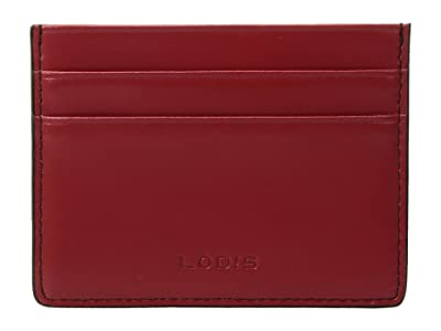 Lodis Accessories Audrey RFID Mini ID Card Case (Red RFID) Credit card Wallet
