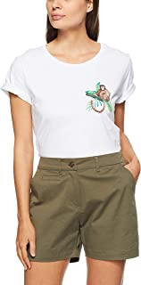 French Connection Women's Monkey Business TEE, Summer White/Multi