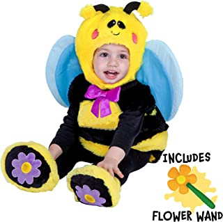 Bumble Baby Bee Costume Deluxe Infant Set for Halloween Trick or Treating Dress Up