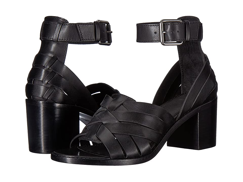 Frye Bianca Huarache Two-Piece (Black) Women