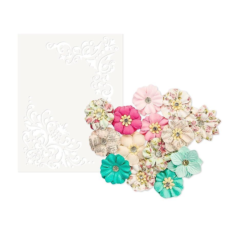 Prima Marketing Inc. 634582 Misty Rose Flowers, Multicolor