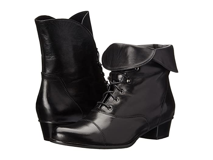 Steampunk Boots & Shoes, Heels & Flats Spring Step Galil Black Womens Shoes $169.95 AT vintagedancer.com
