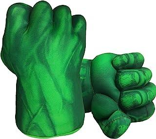 Hulk Hands Gloves Hulk Toy Fists Kids Soft Plush Hulk Costume Accessories Superhero Costumes Gloves Cosplay for Boy Girl C...