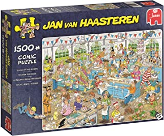 Jumbo Clash of the Bakers 1500 Piece Jan van Haasteren Puzzle