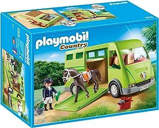 PLAYMOBIL Horse Transporter Building Set