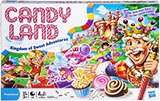 Candyland Board games - The World of Sweets - Suitable for young children - Preschool Board games and toys for kids, boys,...