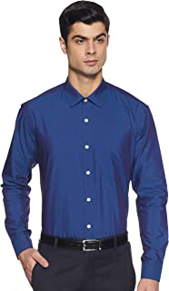 Amazon Brand - Symbol Men's Regular Fit Full Sleeve Fil A Fil Formal Shirt