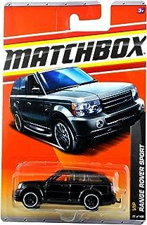 Matchbox Range Rover Sport Black VIP Series (#4 of 6) 2010 Basic Die-Cast Vehicle (#35 of 100)