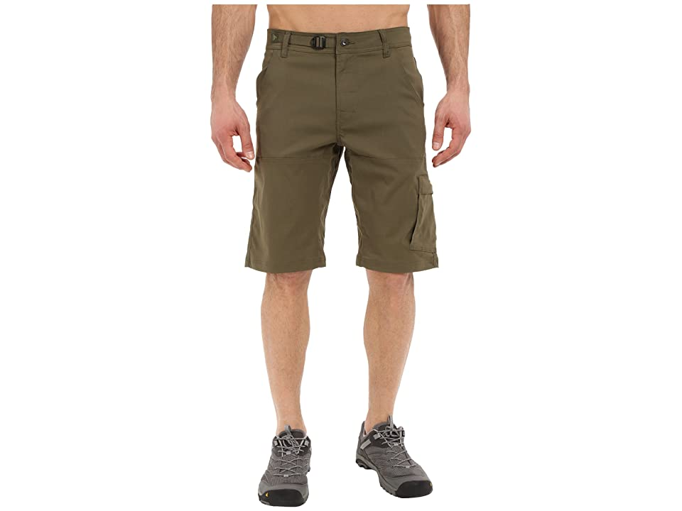 Prana Stretch Zion 12 Short (Cargo Green) Men