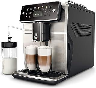 Saeco SM7583/00 Cafetera automática, Acero Inoxidable