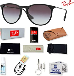 ca243ce91b7 Ray Ban RB4171 Erika Sunglasses for Men and Women with Deluxe Accessories