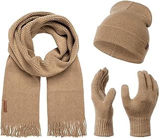 Schal /& Handschuh-Set Maerz Herren M/ütze