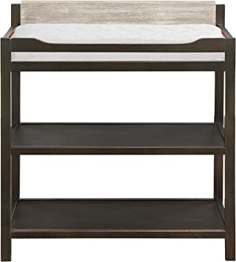 Suite Bebe Hayes Changing Table in Coffee and Faux Barnwood
