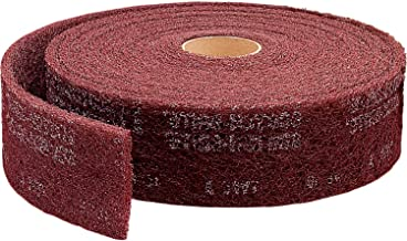 Scotch-Brite 14768-case High strength Roll 12 In x 30 A VFN 1 Per Case Aluminum Oxide Coating Cut Cutting Angle Flute Maroon 12 In x 30/' A VFN 3M Make to Order Items