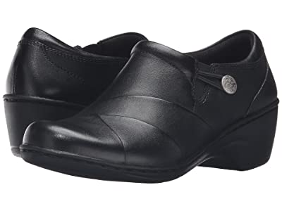 Clarks Channing Ann (Black Leather) Women