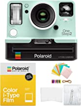 Polaroid Originals OneStep2 VF i-Type Instant Camera (Mint) with i-Type Color Film and Accessory Bundle (3 Items)