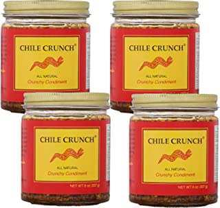 Chile Crunch - An All Natural Crunchy Condiment (Original) - 4 Pack