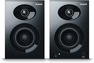Alesis Elevate 3 MKII    Powered Desktop Studio Speakers for Home Studios/Video-Editing/Gaming and Mobile Devices