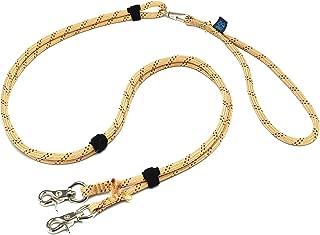 ドッグ・ギア ザイルリードタイプW ロープ径8mm 全長180cm ベージュ 「大切な愛犬を迷子犬にしないためのリードです」