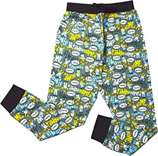 Mens Official Homer Simpson Loungepants | Mens Simpsons Loungewear All Over Print Pyjama Bottoms, Size Small - X-Large