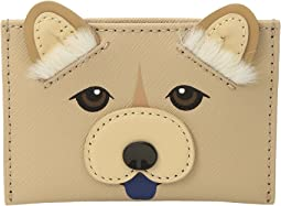 Kate Spade New York - Year Of The Dog Applique Card Holder