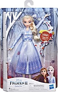 Hasbro Disney Frozen 2 Singing Elsa, Multi-Colour, E6852Ew4
