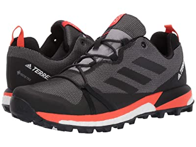 adidas Outdoor Terrex Skychaser LT GTX(r) (Grey Three/Black/Active Orange) Men