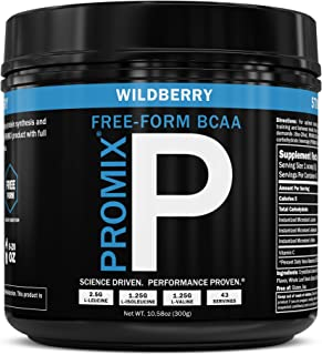 BCAA Powder Amino Acid Energy Branched Chain I Vegan Keto Paleo Instantized Essential Fermented I Non GMO Gluten + Soy Fre...
