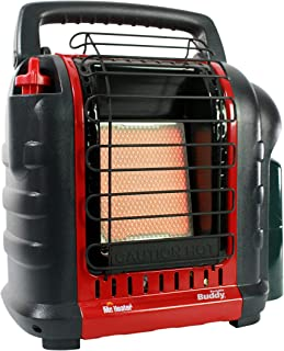 Mr. Heater F232000 MH9BX Buddy 4,000-9,000-BTU Indoor-Safe Portable Propane Radiant..