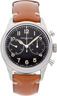 Montblanc 1858 Mechanical (Automatic) Black Dial Mens Watch 117836 (Certified Pre-Owned)