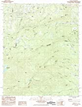 YellowMaps Saluda NC topo map, 1:24000 Scale, 7.5 X 7.5 Minute, Historical, 1983, Updated 1983, 26.8 x 21.8 in
