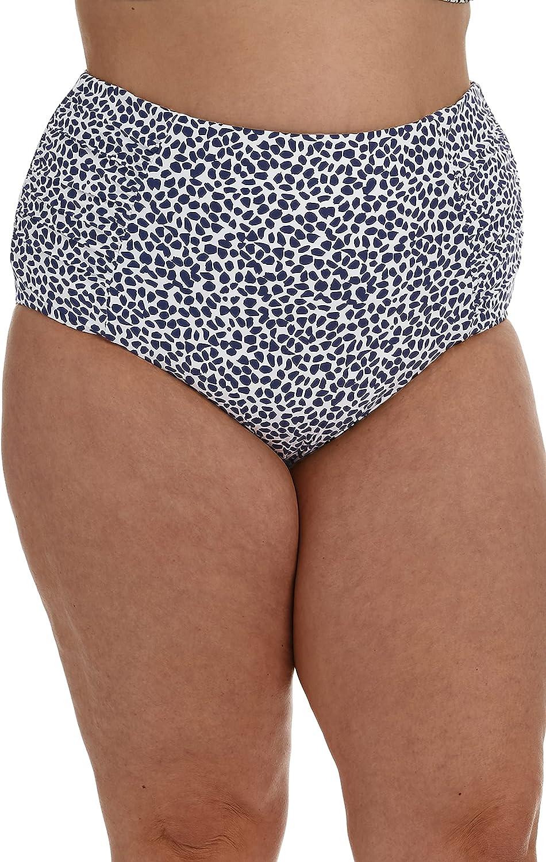 La Blanca Women's High Waist Hipster Bikini Swimsuit Bottom