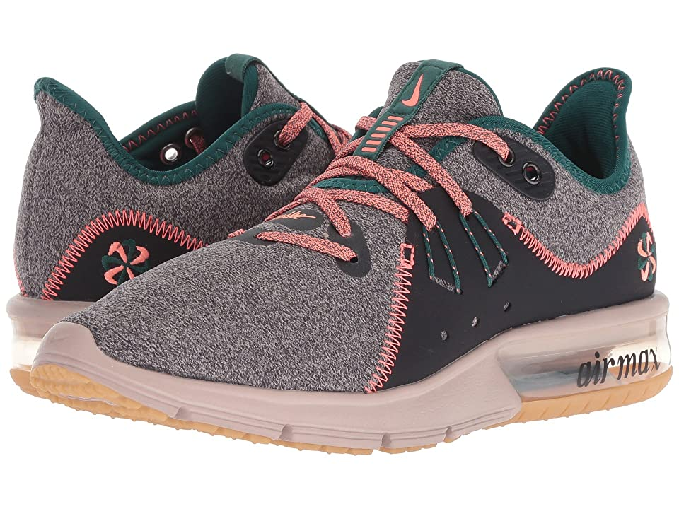 Nike Air Max Sequent 3 Premium (Oil Grey/Bright Mango/Diffused Taupe) Women
