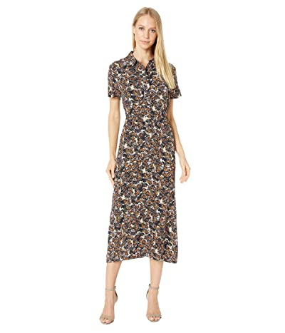 RVCA Dixie Midi Dress (Multi) Women