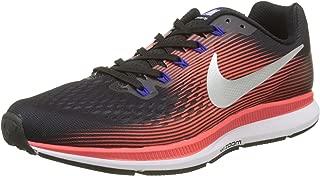 Air Zoom Pegasus 34 880555-006 Black/Crimson/Silver Men's Running Shoes