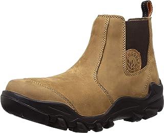 Woodland Men's Camel Leateher Boot6 UK/India (40 EU)-(OGB 2976118)