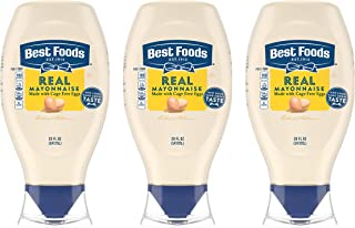 Best Foods Real Mayonnaise For a Rich Creamy Condiment for Sandwiches and Simple Meals Real Mayo Squeeze Bottle Gluten Fre...