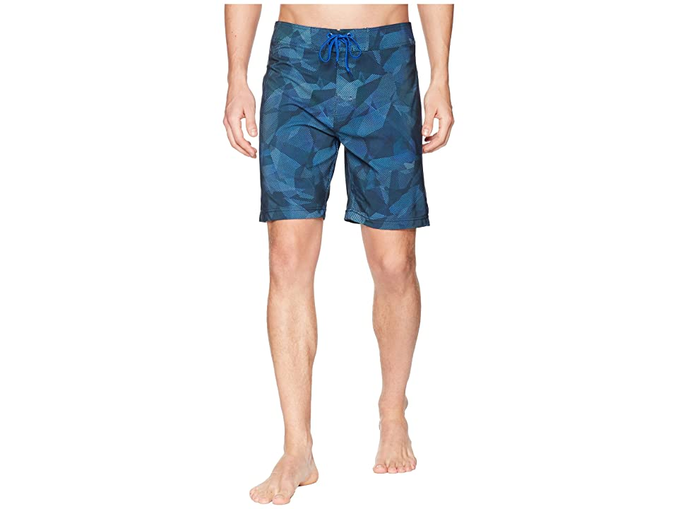 Prana Sediment Short (Island Blue Hex) Men