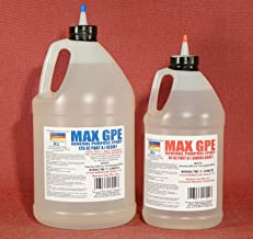 MAX GPE A/B 1.5 Gallon Kit - RV Panel Glue, Injectable Delamination Adhesive, Injectable Wood Rot & Spongy Wood Stabilizing Resin, Fiberglass Impregnating Resin, Strong Waterproof Epoxy Resin