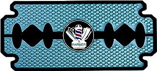 Noverlife Rubber Barber Station Mat, Heat Resistant Anti Slip Hair Salon Service Mat, Double Edge Countertop Protector Pad...