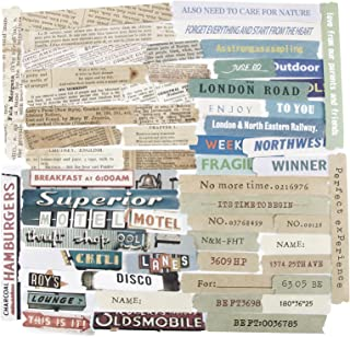 240Pcs Autocollants Papiers Etiquettes Scrapbooking Journal Bullet Décoratifs Stickers Adhésif Anglais Phrases Gommettes V...