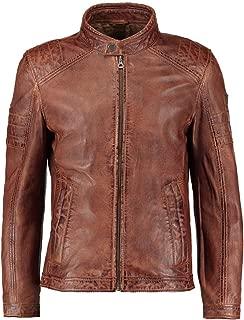 Ayesha Mens Leather Jackets Motorcycle Bomber Biker Genuine Lambskin 482