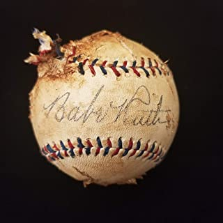 "Babe Ruth Autographed ""The Sandlot"" Baseball. Replica Souvenir Ball"