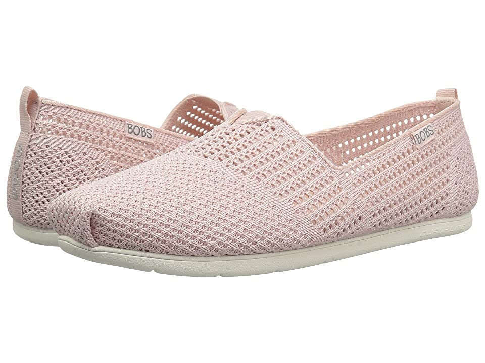 BOBS from SKECHERS Plush Lite Peek (Light Pink) Women