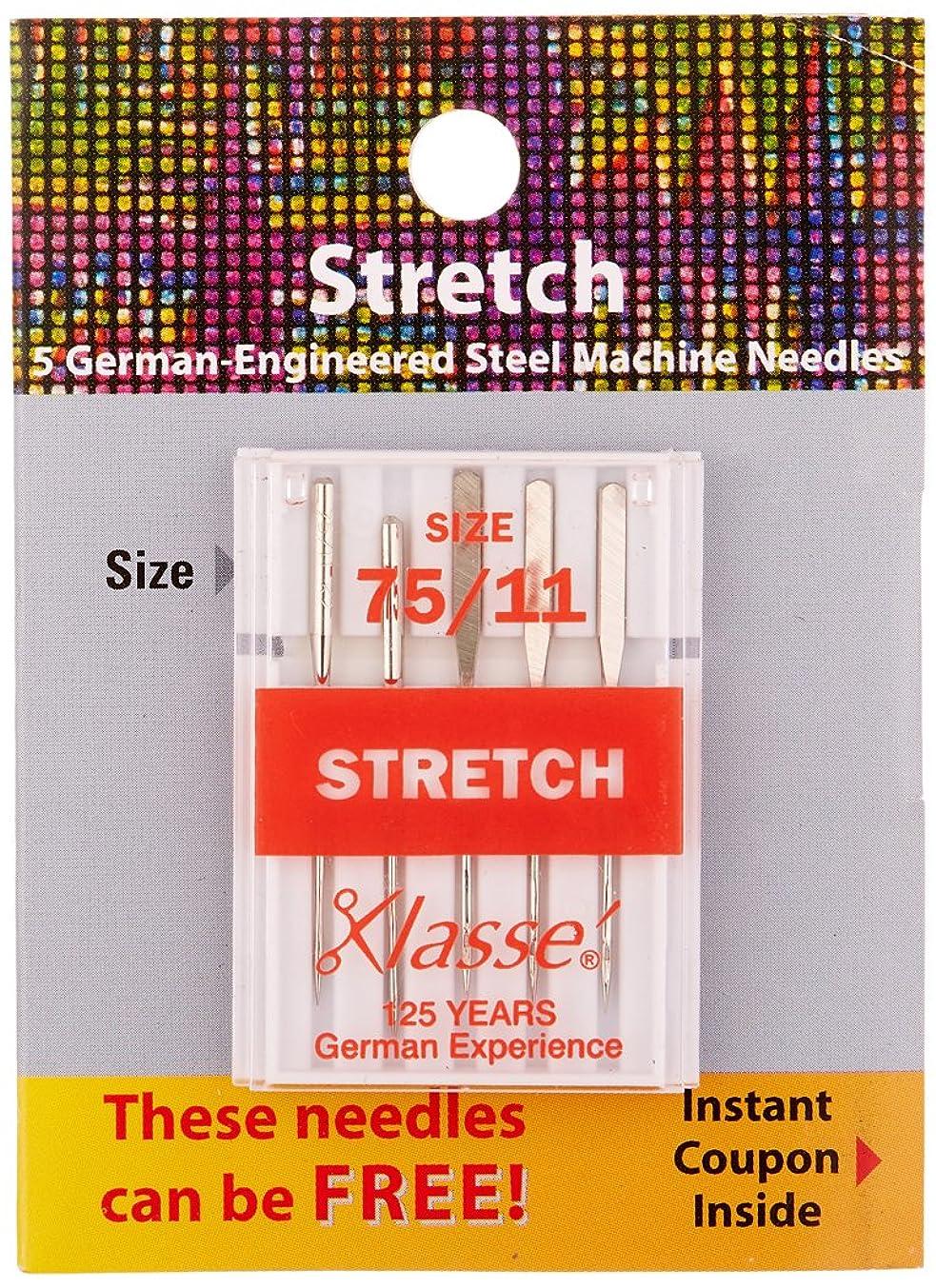 Tacony Corporation Klasse Stretch Machine Needles-75/11 5/Pkg