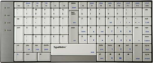 Typematrix Teclado ergonómico 2030 US Dvorak Layout ...