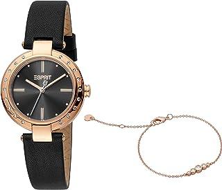 ساعة كوارتز عصرية للنساء من اسبريت، موديل ES1L230L0035